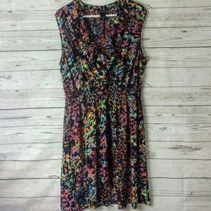 {Lane Bryant} Multicolor print dress